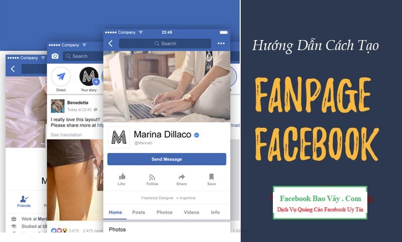 Cách Tạo Fanpage Trên Facebook Đủ Tính Năng Bán Hàng 2019