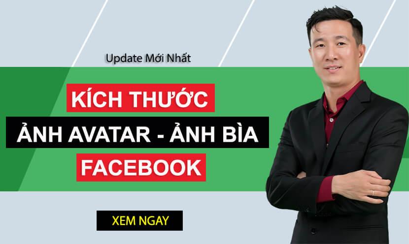 3 Kích thước ảnh avatar - ảnh bìa Facebook đẹp nhất cho bạn