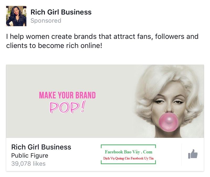 Cách hình thức quảng cáo Facebook 2019
