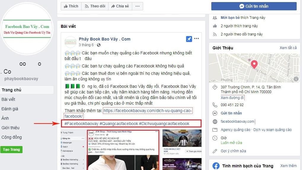 cách seo fanpage facebook