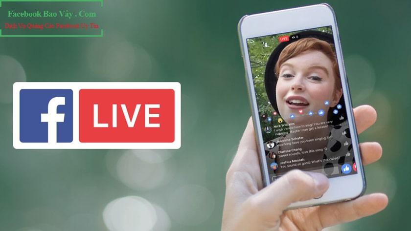 chạy quảng cáo livestream