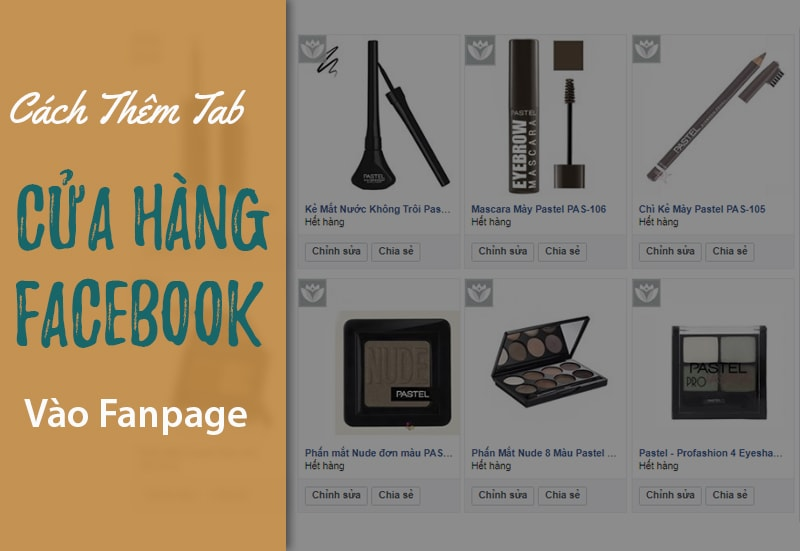 Hướng dẫn cách tạo cửa hàng trên Fanpage