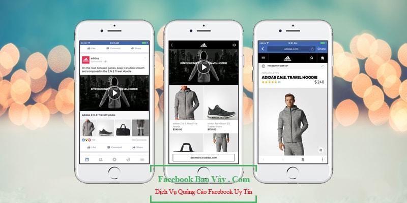 Hình thức quảng cáo Facebook Canvas
