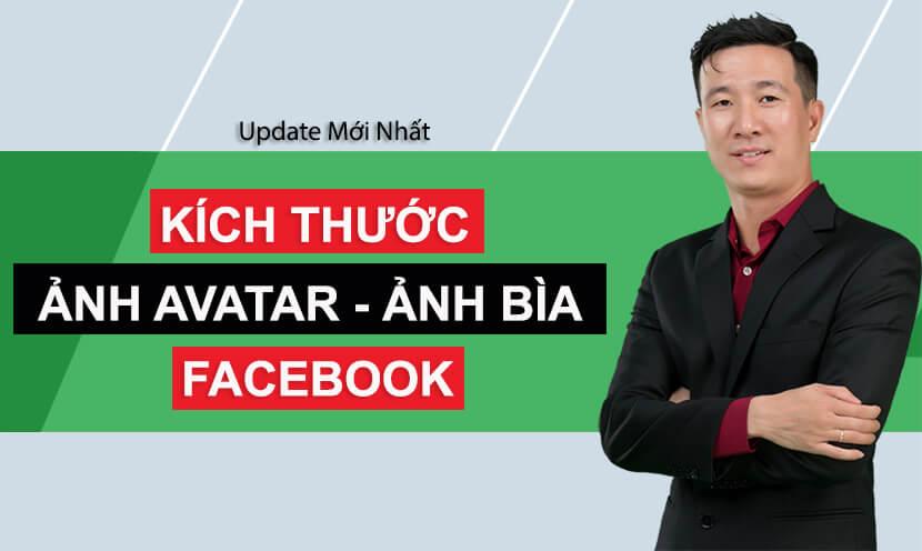 kích thước ảnh avatar ảnh cover facebook