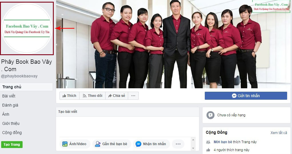 kích thước ảnh avatar facebook
