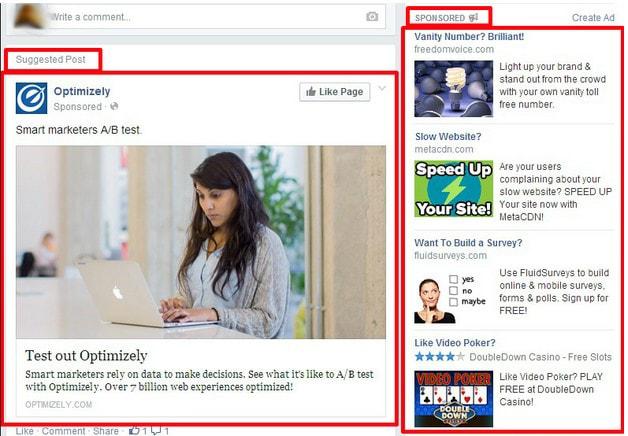Kích thước hình cho dạng quảng cáo 1 ảnh đơn duy nhất của Facebook