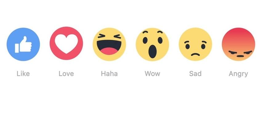 Hệ thống Icon trên Facebook