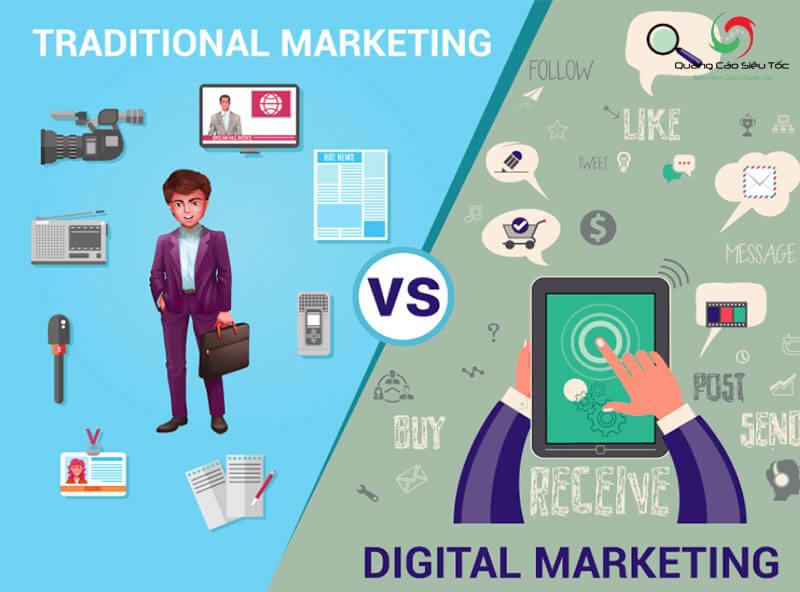 marketing truyền thống và marketing hiện đại