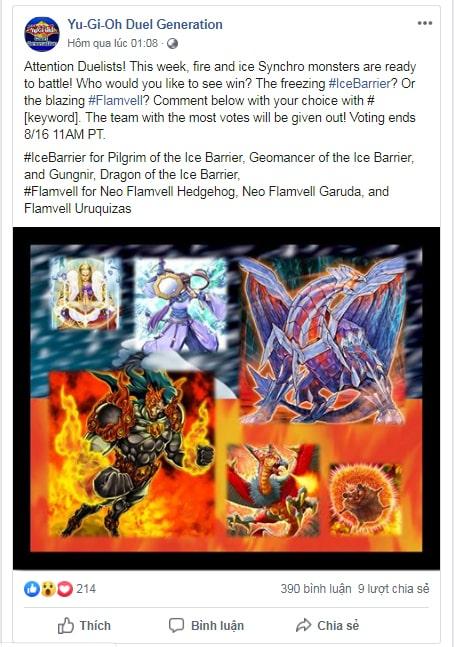 Mẫu mini game vote ý kiến tặng quả trên facebook
