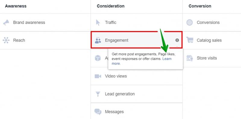 Hình thức quảng cáo tăng like chính thống của Facebook
