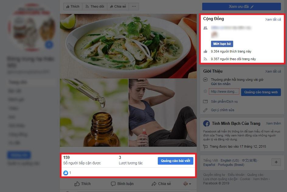 Khả năng tiếp cận người dùng của Fanpage mua like Facebook rất thấp