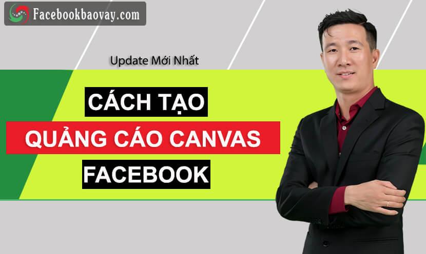 quảng cáo canvas facebook