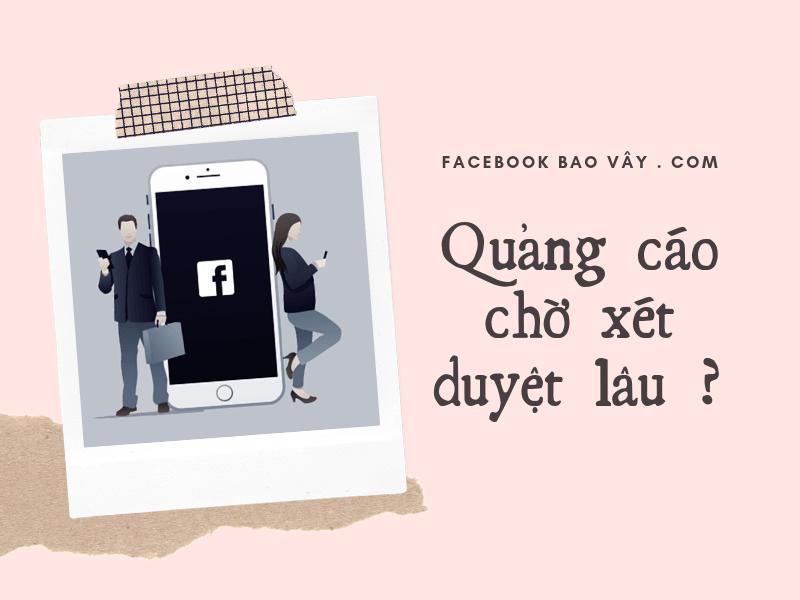 quảng cáo facebook đang xem xét