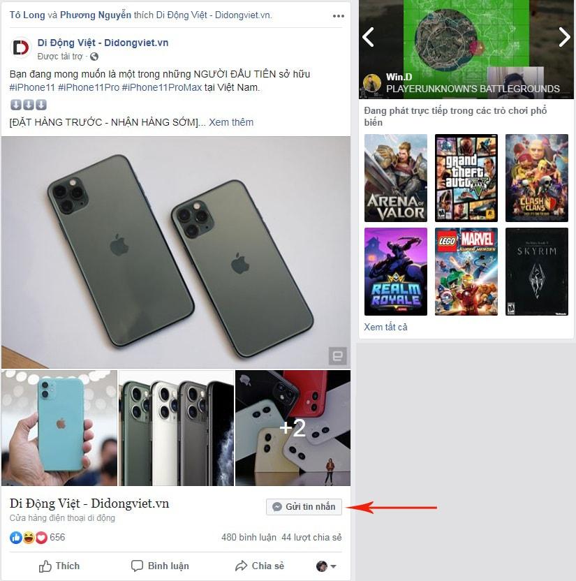 tính tiền facebook ads