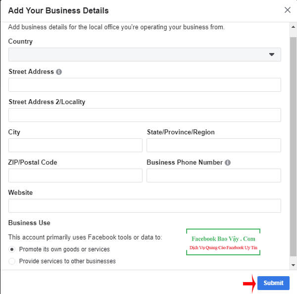 trình quản lý facebook ads