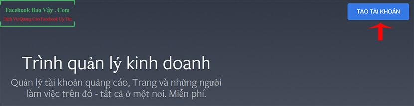 trình quản lý quảng cáo trên facebook